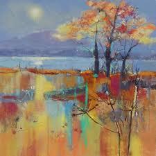 Letitia Smith-Burnett paintings & prints: Autumn Mists