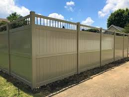 White Vinyl Privacy Fence View Viny Fence Available Colors Fast Ship