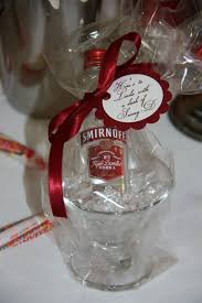 martini favor all wrapped up and