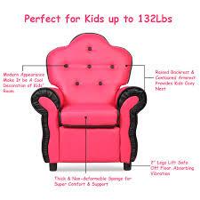 Costway Children Recliner Kids Sofa Chair Couch Living Room Furniture Pink Sold By Costway Rakuten Com Shop