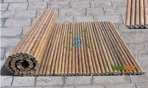 Creasian S Fencing 6 Ft Bamboo Fencing Rolls 1 Dia 8 Ft Rolled Bamboo Fence Panel3 4 Dia Bamboo Fence Bamboo Panels Bamboo Wall Decor