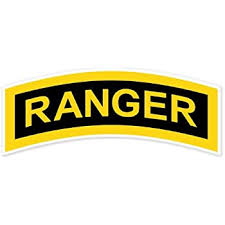 Amazon Com Ride In Style Us Army Ranger Tab Car Bumper Sticker Window Decal 6 X 2 Kitchen Dining