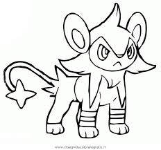 Pokemon Luxray Coloring Pages Sketch Coloring Page Auto