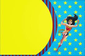 Wonder Woman Free Printable Invitations Cumpleanos De La Mujer