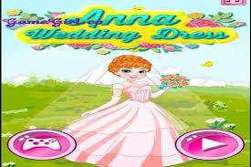 anna wedding dress make up games