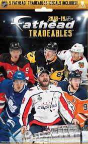 Nhl 2018 19 Hockey Tradeables Mystery Pack 5 Vinyl Decals Fathead Llc Toywiz