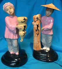 Mid Century Hoi Joi & Joy Ming Figurines by Polly Wilson ...