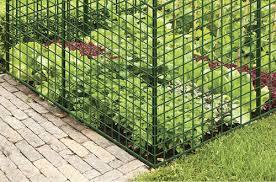 2 X 25 Green Plastic Garden Fence At Menards