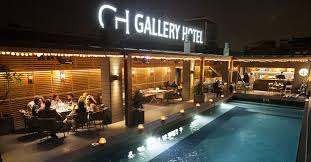 terrace of the gallery hotel