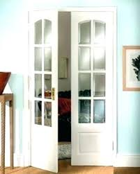 frosted glass french doors for n