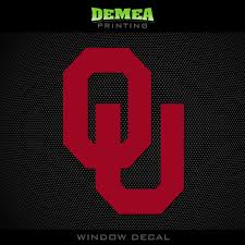 2 39 University Of Oklahoma Sooners Ou Ncaa Red Vinyl Sticker Decal 5 Ebay Collectibles University Of Oklahoma Oklahoma Sooners Decals