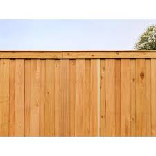Alta Forest Products 5 8 In X 5 1 2 In X 6 Ft Western Red Cedar Dog Ear Fence Picket 63023 The Home Depot