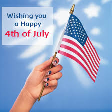wishing you a happy fourth of