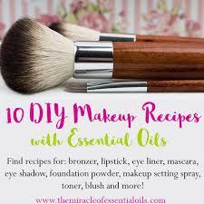 makeup recipes with essential oils