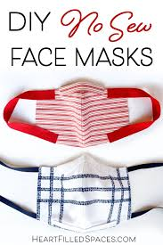 How To Make DIY Face Masks From Fabric ...