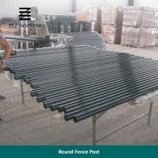 China Round Metal Fencing Tube Post China Round Post Fencing Post