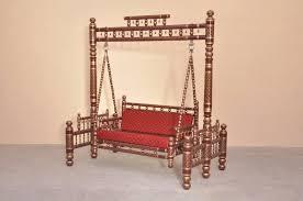 wooden furniture indoor swing jhula