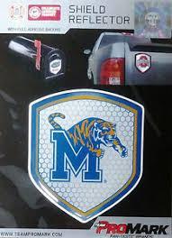 Memphis Tigers Hi Intensity Shield Reflector Emblem Decal Sticker University Of 744271482669 Ebay
