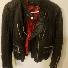 bcbg jackets coats womens leather
