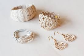 an elegant fusion of modern jewelry and