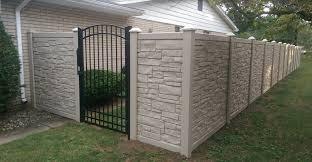 Simtek Fence Installation Sherwood Allegheny Paramount Fence