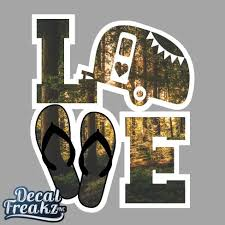 Forest Camper Love Decal Decal Freakz