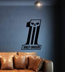 Streetwall Wall Decal Harley Davidson Logo Eins
