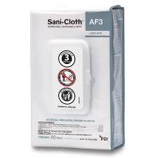 sani cloth af3 germicidal disposable