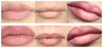 permanent makeup lips microblading