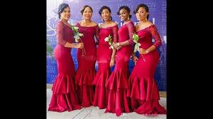 african bridesmaids dresses designs