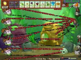 aquarium 100 popcap plants vs zombies