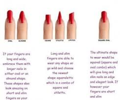 best nail shape for long fingers to try