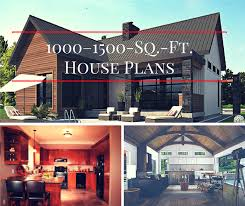 1000 1500 square foot house plans not