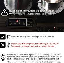 lazy k induction cooktop mat