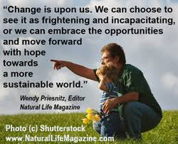 Quotes about green living, minimalism, and social change