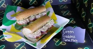 green dess tuna melt and tuna blt