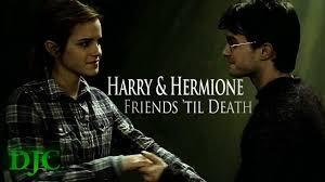 harry hermione friends til death