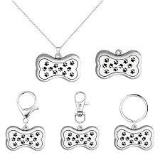 2019 dog bone shape necklace pendant