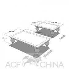 living room table size home designing
