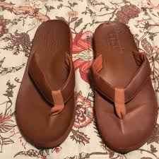 abercrombie fitch mens leather sandals