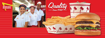 Image result for in 'n' out burger