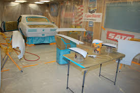 into an easy to use paint booth