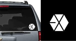 Custom Kpop Vinyl Sticker Car Window Laptop Exo Vixx Snsd Bigbang Bts Crafts Fibsol Com