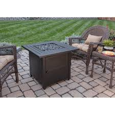 endless summer steel propane fire pit