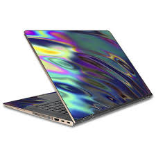 Skin Decal For Hp Spectre X360 15t Laptop Vinyl Wrap Oil Slick Opal Colorful Resin Itsaskin Com