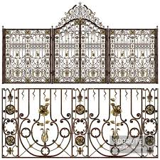 Wrought Iron Gates Download 3d Models Free 3dbrute