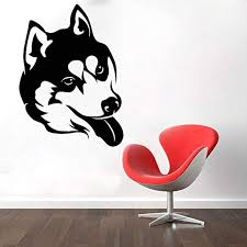 Amazon Com Husky Animals Dog Pets Dog Breed Puppy Car Sticker Wall Decor Wall Decal Window Sticker Vinyl Sticker Skgmi06 Home Kitchen
