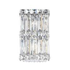 light clear spectra crystal wall sconce
