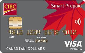 cibc smart prepaid visa card prepaid