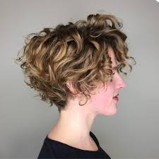 cute easy hairstyles for short curly hair